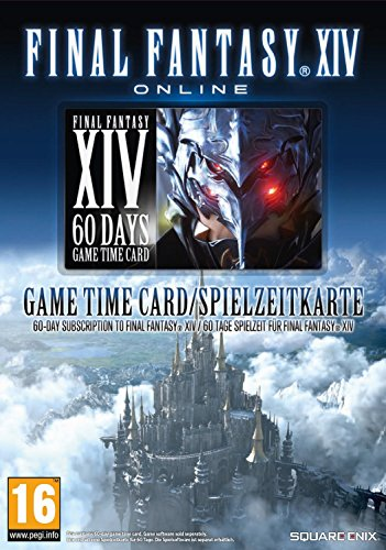 Final Fantasy XIV - A Realm Reborn 60 Day Time Card (PC) (UK) (UK Account required for online content) - Final Fantasy Realm Reborn Code