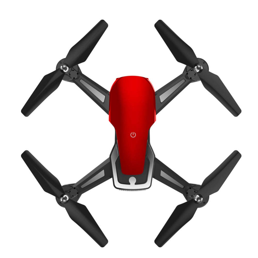 YFCTASQX Uav FixedHigh Folding Aerial Vehicle Remote Control Aircraft Aerial Toy,Red,WRJ