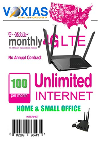 Unlimited Data SIM T-Mobile Sim Card for Unlimited Data MB 30 Days 4G LTE  Mofi/Pepwave/Cradlepoint(not for Hotspot)