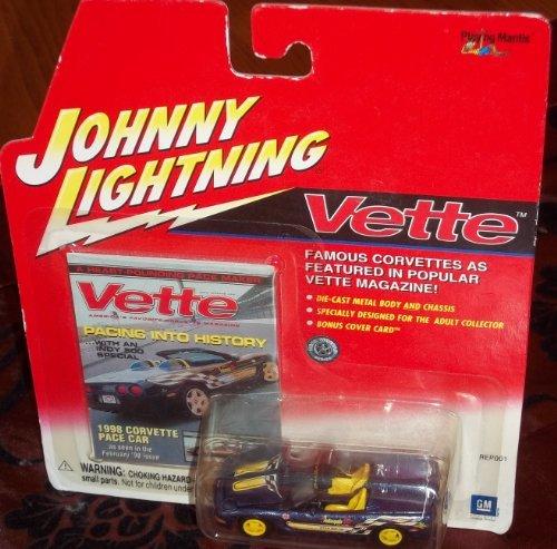 1998 Corvette Pace Car - Johnny Lightning VETTE - 1998 Corvette Pace Car