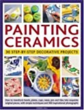 Painting Ceramics: 30 Step-by-Step Decorative Projects: How to transform bowls, plate, cups, vases, jars and tiles into exquisite original pieces, ... techniques and 300 inspirational photographs