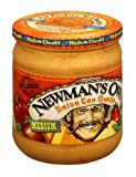 Newman's Own All Natural Medium Salsa Con Queso, 16 oz (Pack of 12)
