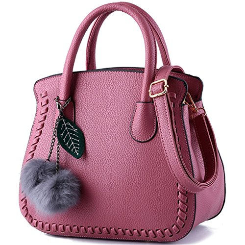 Noir dark L004 Sac pour main MSXUAN porté Pink femme à L024UK au dos Noir vpqgUqx