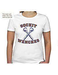 Sockit Wenches Womens T-Shirt in White
