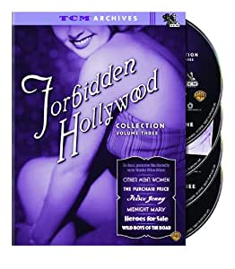 Forbidden Hollywood Collection Vol. 3 (TCM Archives) (Sous-titres franais)