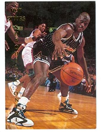Amazon Shaquille ONeal Basketball Card 1992 Hot Stars Promo National LSU
