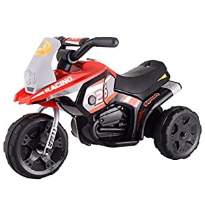Eight24hours 6V Kids Ride On Motorcycle Battery Powered 3 Wheel Bicyle Electric Toy New Red + FREE E - Book