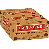 Larabar Peanut Butter Chocolate Chip Fruit & Nut Bars 16 ct Box (Pack of 5)