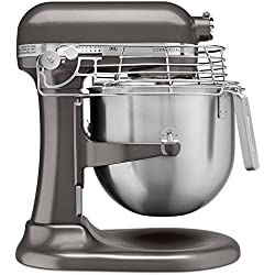 KitchenAid (KSMC895DP) 8-Quart Stand Mixer with Bowl Guard (Dark Pewter)
