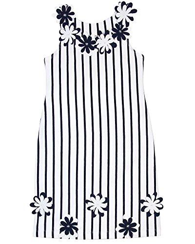 Kate Mack Girls' Jersey Dress Daisies Crew, Sizes 4-12 - 7 - Kate Mack Daisy