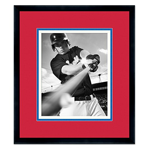 Boston Red Sox Classic Black Wood Photo Frame Made to Display 5x7 Photos