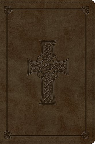 ESV Compact Bible (TruTone, Olive, Celtic Cross Design) (Bible Cross Esv Celtic)