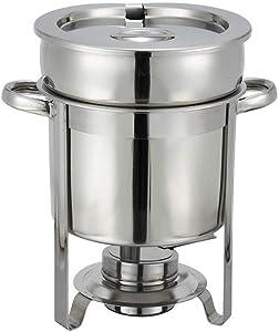 Winco Stainless Steel Soup Warmer, 7-Quart, Medium