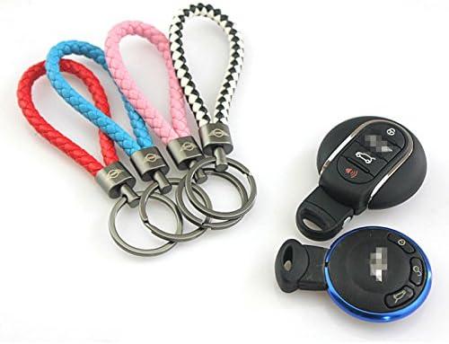 LVBAO Key Chain Keyring Keychain Key PU Mini Cooper ONE S JCW R61 R60 R55 R56 R57 R58 R59 F54 F55 F56 F57 F60Clubman PACEMAN Countryman