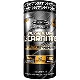 MuscleTech Essential Series 100% L-carnitine, 180 Count