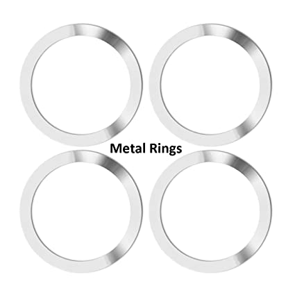 products metal round of elm rings set west gunmetal curtain o