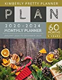 5 Year Monthly Planner 2020-2024: Womens 5 Year