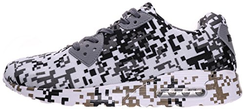 6 46 40 Herren Dämpfung Air mit Grau Sneaker BRONAX Farben wU0vqB