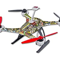 Skin For Blade 350 QX3 Drone – Fish Puzzle | MightySkins Protective, Durable, and Unique Vinyl Decal wrap cover | Easy To Apply, Remove, and Change Styles | Made in the USA