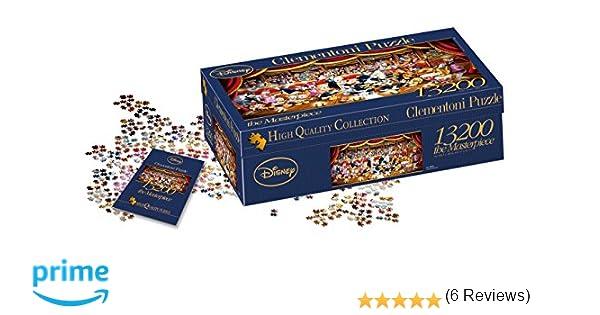 Clementoni - Puzzle 13.200 Piezas Orquesta Disney (38010)