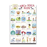 Custom Poster ABC Yoga For Kids 20X30 Inch Wall Sticker Exercise Poster