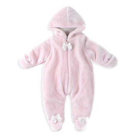 Vine Pijama gruesa durable cálido pelele disfraz con capucha para bebé niño niña babies romper