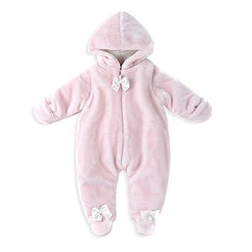 ce9de2b2d Baby Clothes Romper Newborn Boys Girls Winter One-Piece Snowsuit Infant  Jumpsuits Outwear Cute Outfits 7-9 Months: Amazon.co.uk: Baby