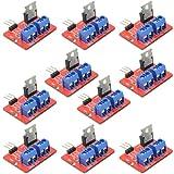 WGCD 10 PCS IRF520 MOSFET Driver Module for Arduino Raspberry Pi