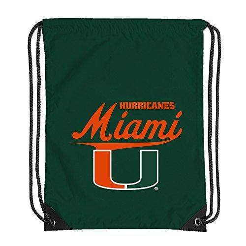 NCAA Miami Hurricanes Team Spirit Backsack