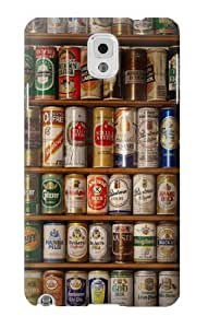 S0983 Beer Cans Collection Case Cover For Samsung Galaxy Note 3