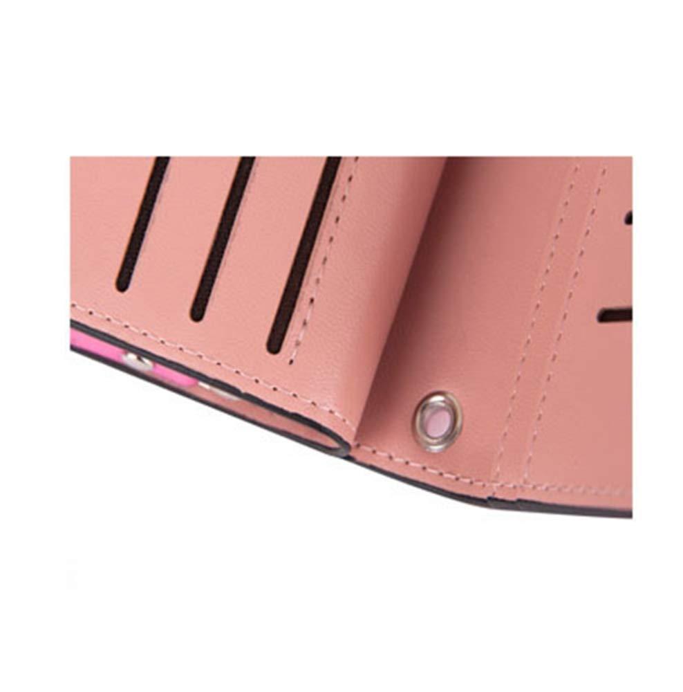 Color : A Lady Wallet Womens Large Wallet Fashion Multi-Card Handbag Big-Capacity Hand Bag Mobile Bag Girl Bag