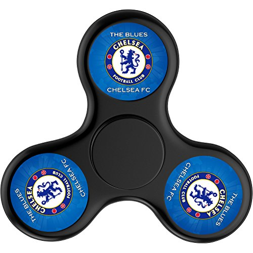 Hunter Hut Chelsea Football Club-Black,Hand Spinner Toy for Killing Time,Stress Reducer Relieve Anxiety and Boredom