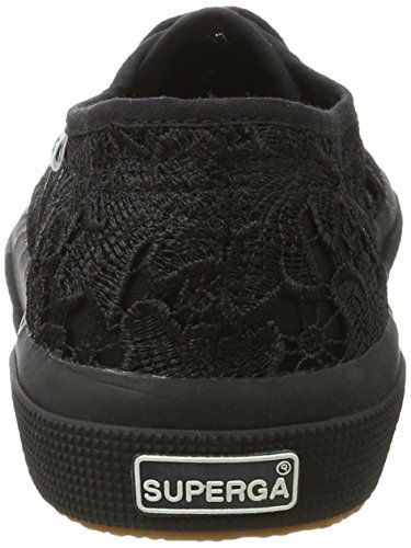 Black Macrametw Basse Donna 2750 Superga Sneaker full Nero 0Ognq