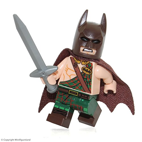 The LEGO Batman Movie MiniFigure - Tartan Batman (All New for 2017!)