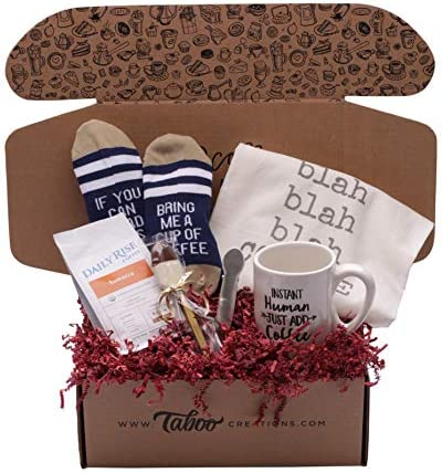 Taboo Creations Coffee Lovers Basket