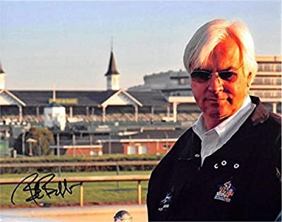 Bob Baffert autographed 8x10 photo (Horse Racing Kentucky Derby Triple Crown Trainer American Pharoah) Image #12