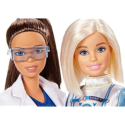 Barbie Careers Astronaut and Space Scientist Doll, 2 Pack: Toys & Games