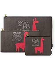 Society6 Save The Drama For Your Llama Carry-All Pouch