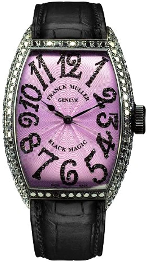 Franck Muller WFM5850SCDWG - Reloj para Mujeres, Correa de Cuero ...