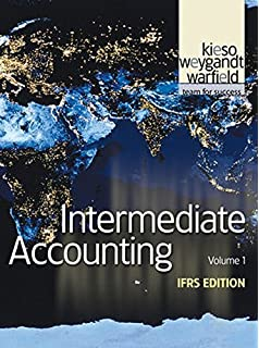 Intermediate accounting volume 1 donald e kieso 9780470161005 intermediate accounting vol 1 ifrs edition fandeluxe Image collections