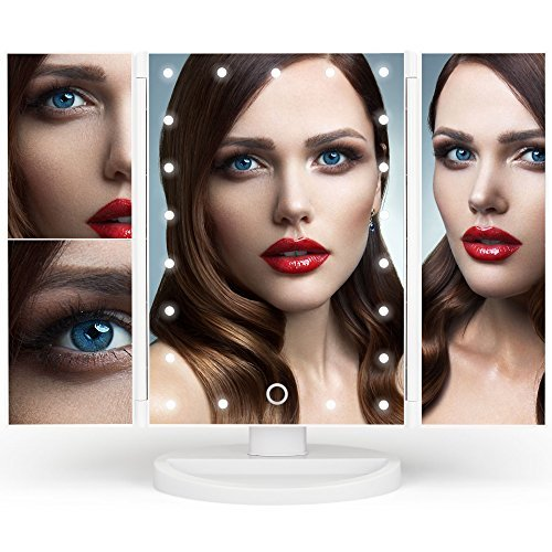 Makeup Mirror - Vanity Mirror - Lighted Makeup Mirror - Led Light Up Mirror - Lighted Vanity Mirror - Mirror with Lights - Makeup Mirror for Women - Cosmetic Mirror - Vanity Makeup Mirror - Led Light