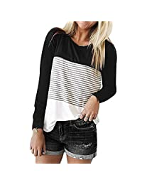 COTTONI-Tops Hoodies for Teen Girls On Clearance,Triple Casual Blouse