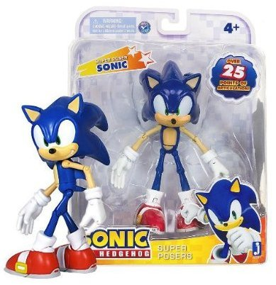 "Sonic: Super Poser Sonic The Hedgehog ~7"" Action Figure Series [2013 Edition]"