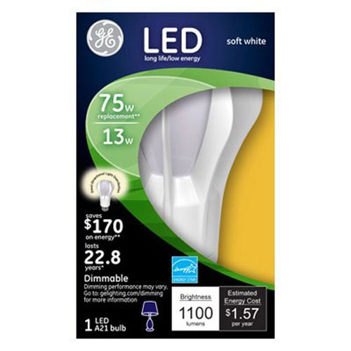 ge energy smart 75w replacement - 7