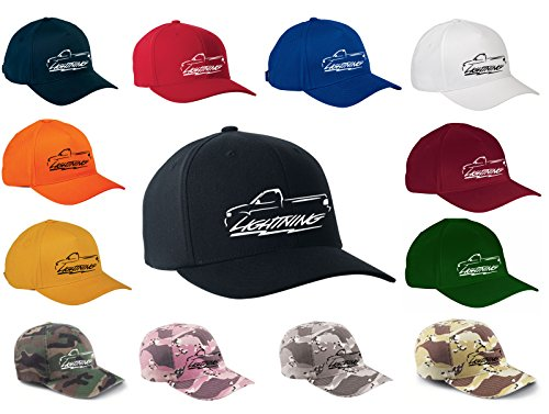 Ford Svt Lightning (1999-04 Ford SVT Lightning Truck Classic Outline Design Hat Cap)