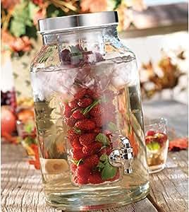 Home Essentials & Beyond Del Sol Beverage Dispenser w/Fruit Infuser