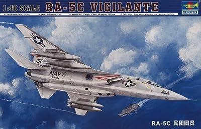 Trumpeter 1/48 RA5C Vigilante Aircraft Model Kit by Trumpeter