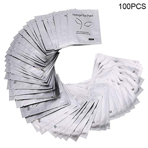 Memo Pad - 50/100/200pairs Eyelashes Paper Patches Eye Pads Eyelashes Eyes Patches Lint Free Women Eyepads Lashes Extension Lint