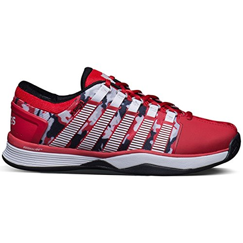 K-Swiss Hypercourt Mens Tennis Shoes (Red/Camo) (8 D(M) US)