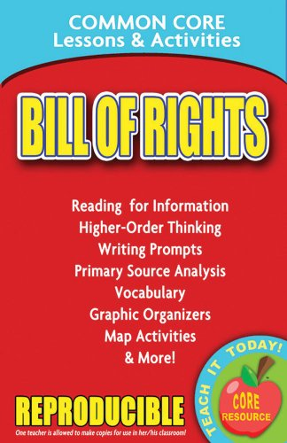 Bill of Rights - Common Core Lessons and Activities